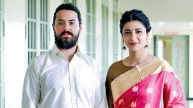 Shruti Hassan With Michael Corsale