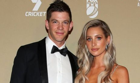 Tim Paine With Bonnie Maggs