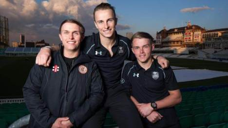 Tom Curran With His Brother