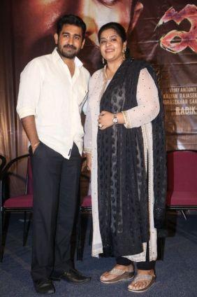 Vijay Antony With Fathima Vijay Antony