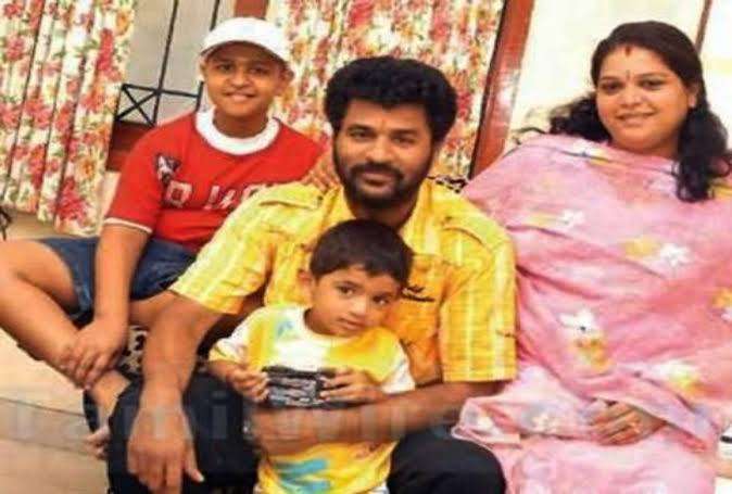 Prabhu Deva And His Family