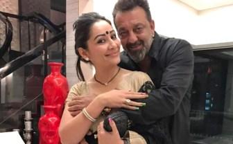 Sanjay Dutt WithManyata Dutt