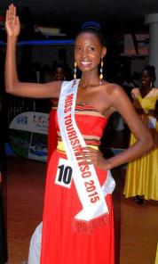Akurut pauline- Miss Tourism Uganda