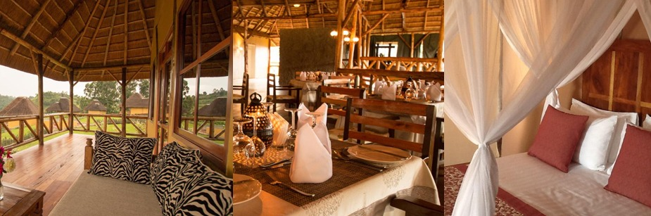 Crater safari lodge - budget accommodation in Kibale  np