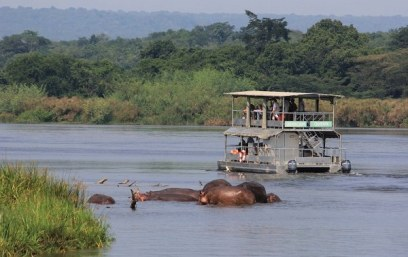 Game Drives in Murchison Falls National Park Uganda tour