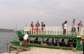 The Launch Cruise in Queen Elizabeth National Park