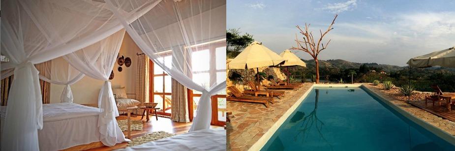 Papaya Lake Lodge- accommodation in kibale np