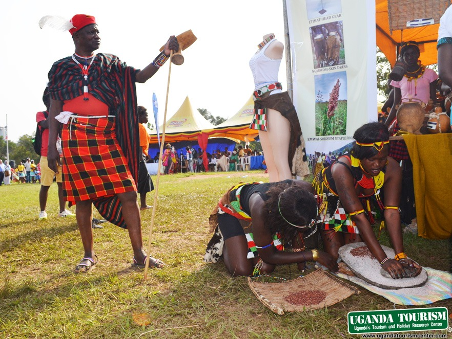 Cultural exhibition during last years Uganda cultural safaris fair