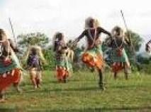 Rwanda traditional dancers