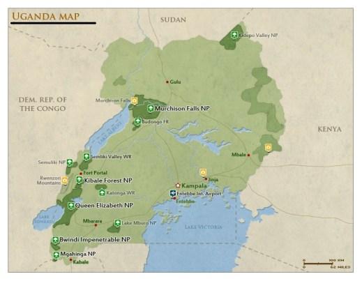 Uganda Tourist Attractions | Uganda Safari Attractions