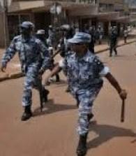 security personnel uganda
