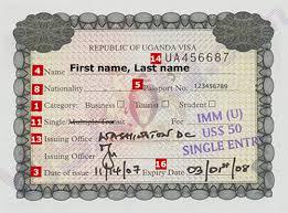 Uganda visa