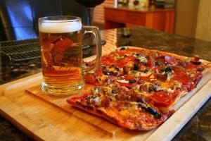 No Surprise Pizza & Beer