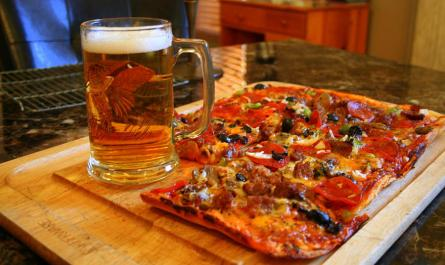 No Surprise Pizza & Beer