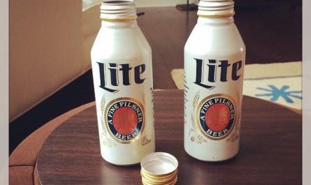 Miller Lite Cans
