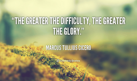 Greater The Difficulty