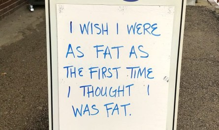 Fat Sign