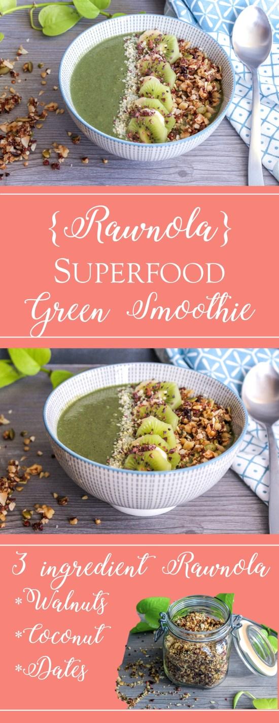 superfood green rawnola