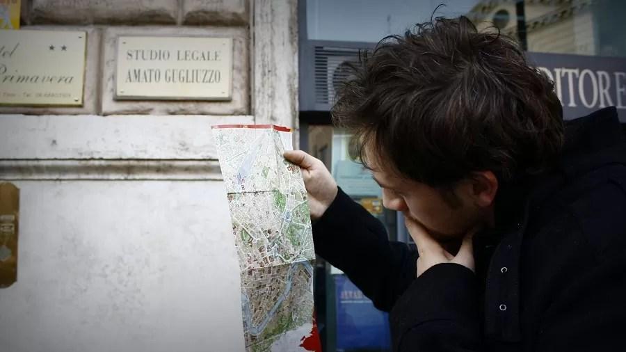 co zabrać do Włoch, mapa Rzymu