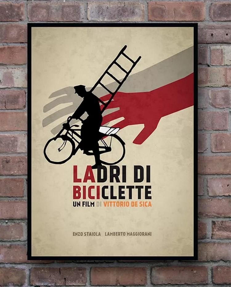 prezenty dla kawosza, prezenty dla italofila, Złodzieje Rowerów, filmy o Włoszech