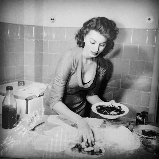 książki o włoszech, Sophia Loren, W kuchni z miłością