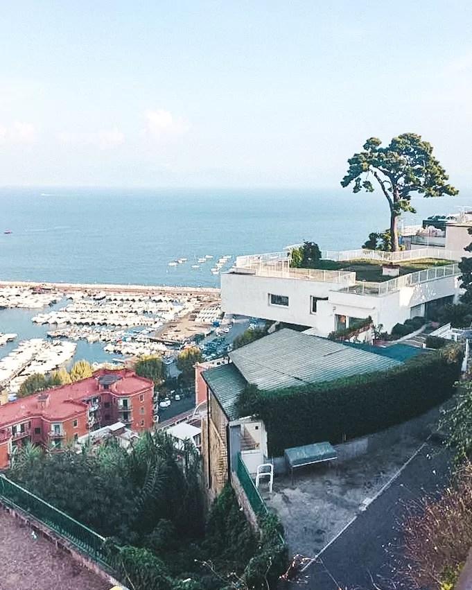 Neapol śladami Ferrante, punkty widokowe Neapolu, Neapol Via Orario