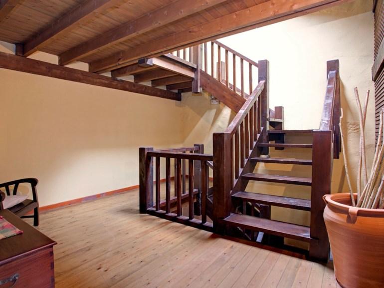 Treppe von Ferienwohnung für 8 Personen