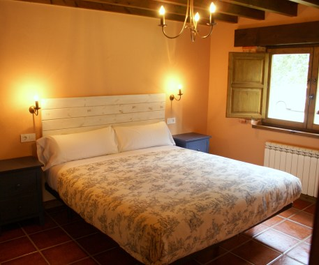 Bedroom in the holiday house for 10 people in Boquerizo
