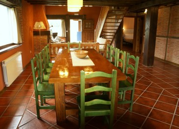 Sittingroom for 10 people in the holiday house in Boquerizo