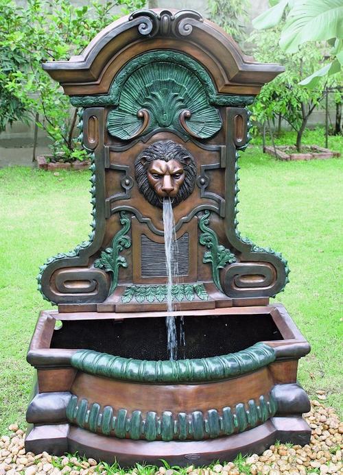Wall Fountain Lion Head Statue 199999