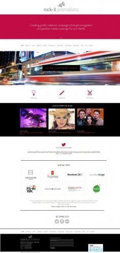 rock it promotions website screenshot