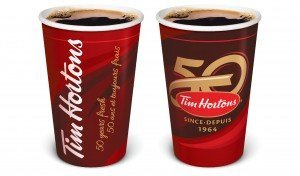 TIM HORTONS - Tim Hortons celebrates 50-years fresh