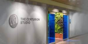 American Express Centurion Studio in SeaTac Airport