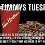 No Timmys Tuesday