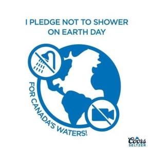 Coors Seltzer Launches Earth Day
