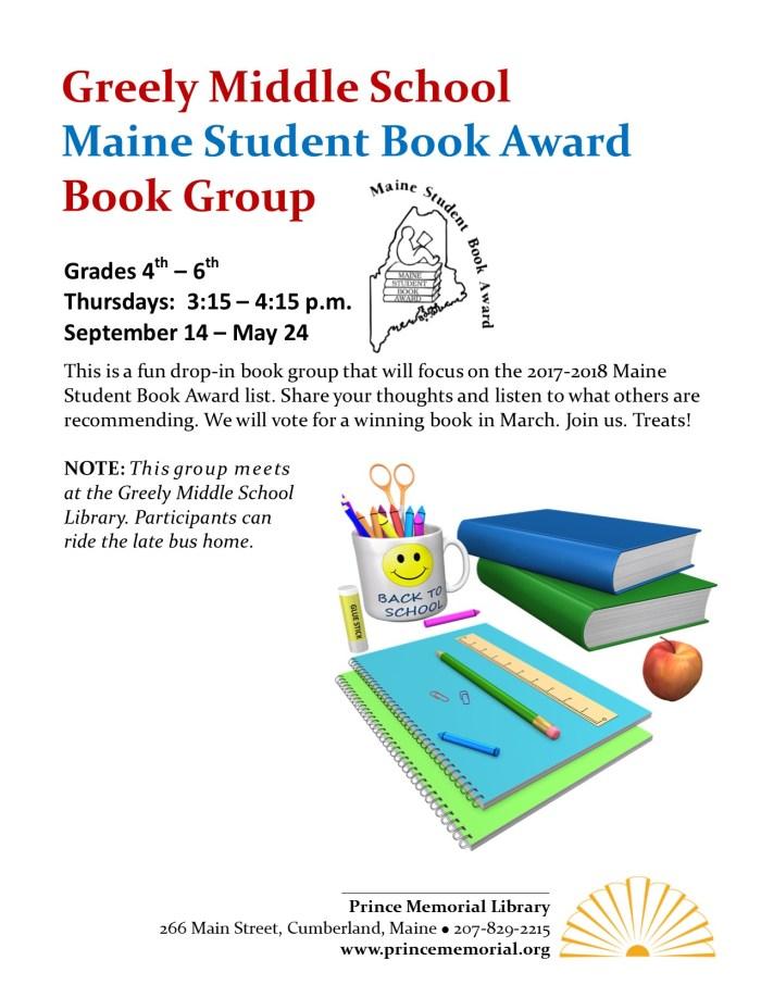 MSBA Book Group