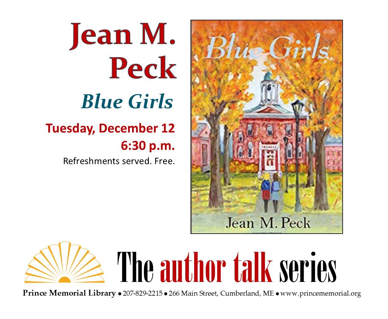 Author Talk Jean Peck