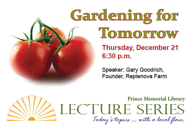 lecture gardening for tomorrow