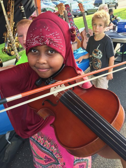 Opal Student Violin