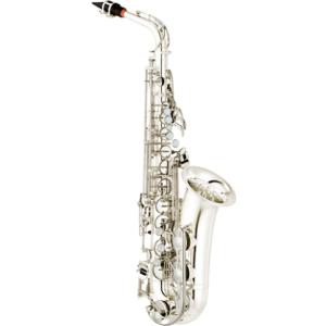 Yamaha YAS 62 silver alto saxophone