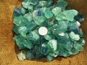Green Flourite Crystal minerals healing stones