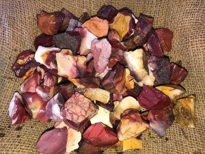 Mookaite jasper stones