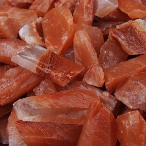 Red calacite crystal heaing stones for sale