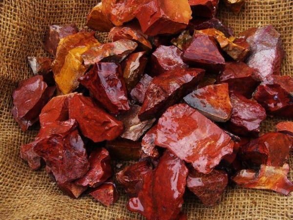 Red Jasper Crystal healing rocks