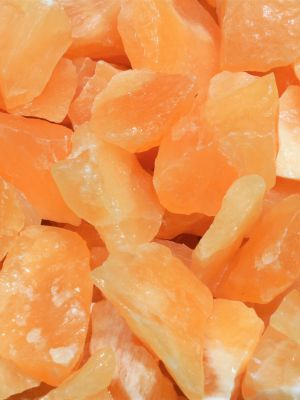 Orange calcite healing crystals energy