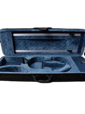 violin case - hard foarm rectangular canvas outside