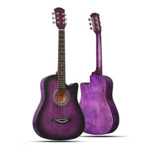 AKUA Sea Acoustic Guitar stock photo