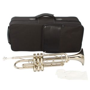 Silver student series trumpet