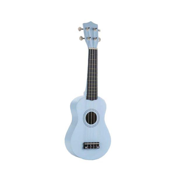 """Kids 21"""" colorful ukulele blue color"""