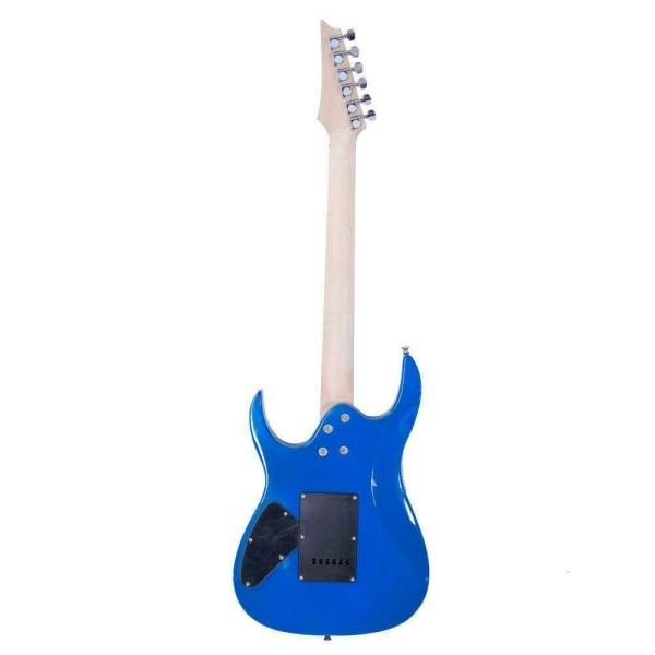Mars Guitar electric guitar in electric blue